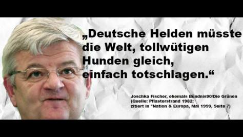 Bildergebnis für Bilder Zitate zu Joschka Fischer